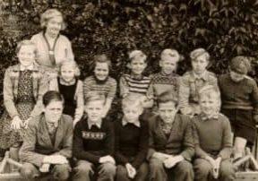 Skolebillede_maugstrup_1954